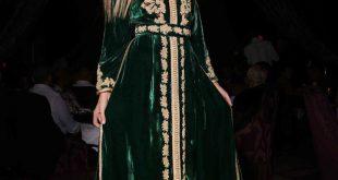 صور قفطان قطيفة الهوا , موديلات ملابس لبنات المغرب