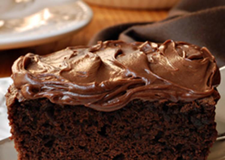 صورة كيكة شوكولاته سهله وسريعه , اسهل طريقة لعمل الكيك بشكوكولاته