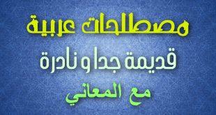 صور كلمات عربية فصحى نادرة , الكلمات العربيه الفصحي القديمه