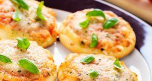 صور وصفة ميني بيتزا , اسهل طريقة لعمل ميني بيتزا