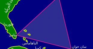 صورة خريطة مثلث برمودا , تعرف على مثلث برمودا
