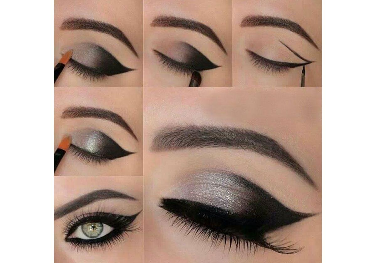 صور وضع ظلال العيون بالصور , كيف تضع المظلال على العين
