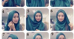 صور كيفية وضع الحجاب بطريقة عصرية , اشيك لفة حجاب في العالم