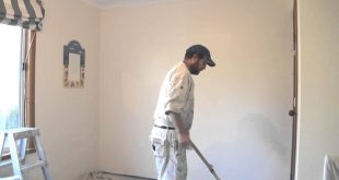 صور كيفية صباغة الجدران , تعلم كيف تكون صباغة الجدران