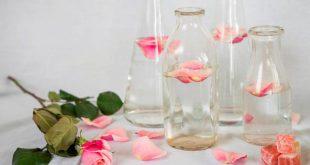 صور كيفية استخدام ماء الورد للبشرة الدهنية , طريقة استخدم ماء الورد للبشره