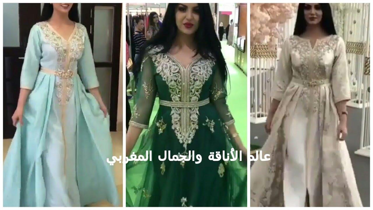 صور قفاطين مغربية 2019 , اشيك ملابس في المغرب للنساء 2019