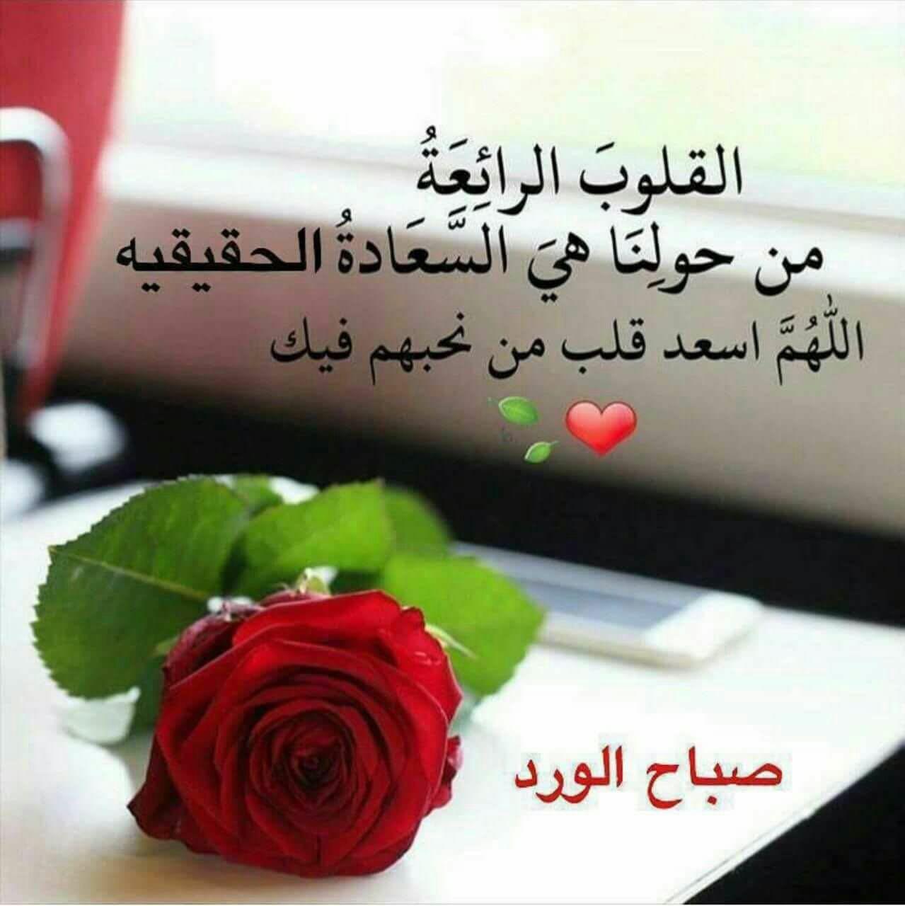 صورة صباح الخير رومانسية , اجمل كلمات حب تقال بنهار