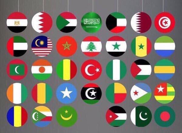 اعلام الدول العربية واسمائها بالصور بالعربي