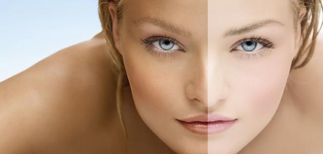 صورة تبيض البشرة الدهنية , وصفات طبيعية لتبيض البشرة الدهنية