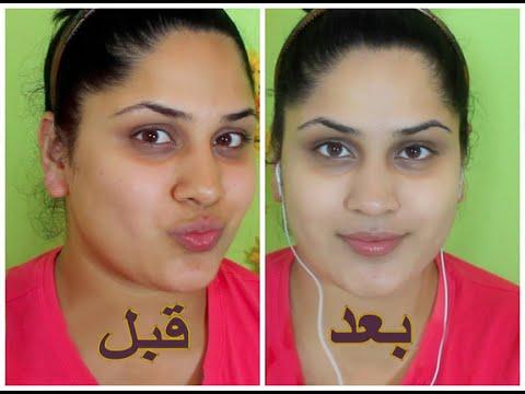 صورة كريم تبيض الوجه , افضل انواع كريمات تفتيح الوجه