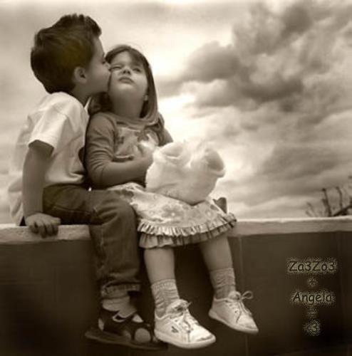 صورة صور بوس اطفال , اجمل صور قبلات الاطقال