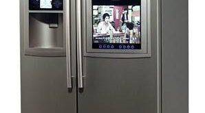 صور ثلاجة داخل دولاب المطبخ , كيفية وضع الثلاجة فى المطبخ