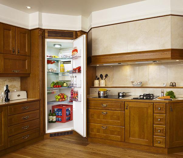 ثلاجة داخل دولاب المطبخ كيفية وضع الثلاجة فى المطبخ الحبيب للحبيب