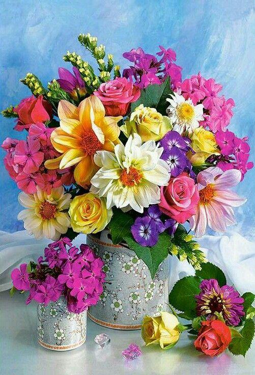 صورة اجمل بوكيه ورد طبيعي , جمال الورد الطبيعي باحلى بوكيهات