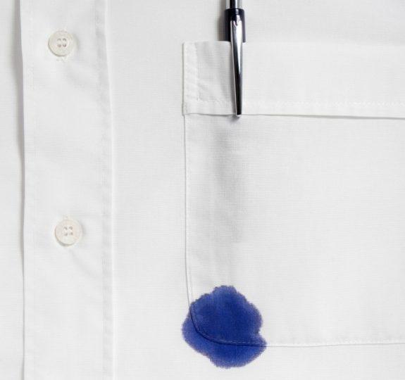 صورة ازالة بقع الحبر من الملابس البيضاء , اقضي على بقع الحبر بوصفة