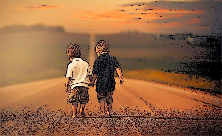 صورة تعبير عن الصديق الحقيقي , موضوع تعبير عن الاصدقاء الاوفياء