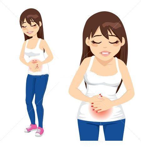 صور هل وجع البطن من اعراض الحمل , الفرق بين مغص الحمل والحيض