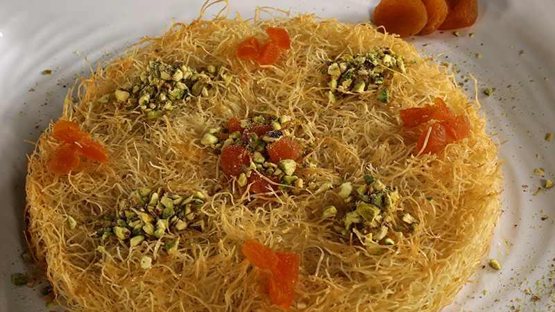 صورة طريقة عمل الكنافة اللبنانية , اسهل طرق عمل كنافة لبناني