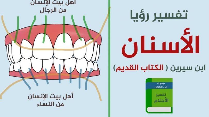 السن في المنام تفسير حلم الاسنان بالمنام الحبيب للحبيب