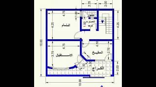 صور مخططات منازل جزائرية , رسومات لاجمل المنازل