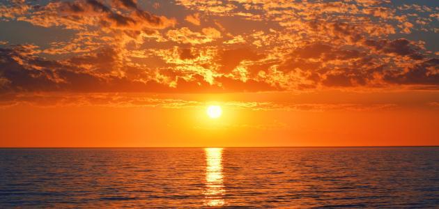 تعلم من غروب الشمس وش معنى 6