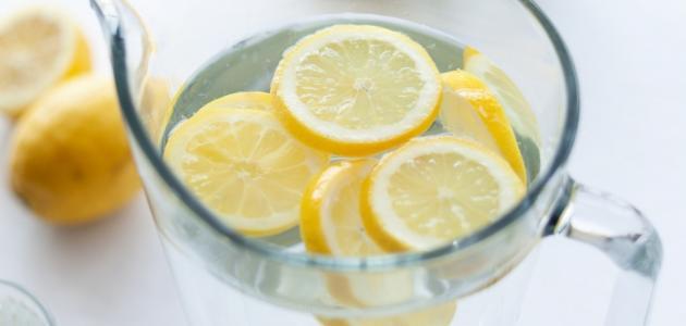 صور الماء والليمون للتنحيف , طريقة استخدام الماء والليمون للتخسيس