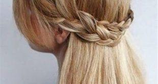 صور تسريحة للشعر الوسط , تالقى باجمل تسريحات الشعر المتوسط