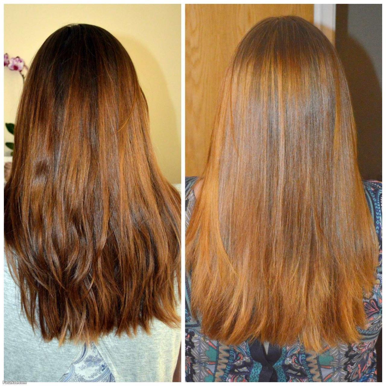 صورة تصحيح لون الشعر البرتقالي , كيف تتخلصين من اللون البرتقالى للشعر
