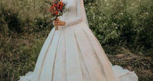 صورة صور فساتين اعراس , صور تشكيلة فساتين زفاف للمحجبات