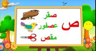 صورة كلمات حرف ص , صور كلمات بحرف الصاد للاطفال
