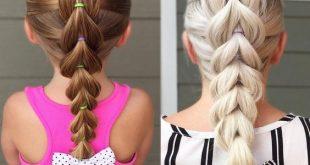 صور ضفائر شعر اطفال , صور تسريحات شعر بالضفائر