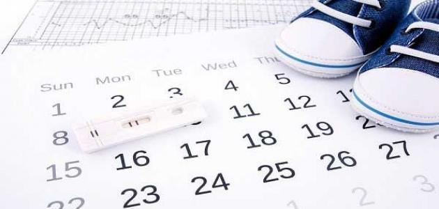 صور الحمل بعد الدورة , افضل وقت للحمل بعد انتهاء الحيض