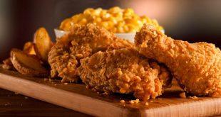 صور طريقة عمل الكنتاكي , طريقة تحضير دجاج كنتاكي مقرمش