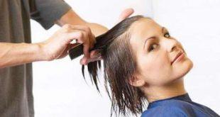 صورة ازالة الصبغة السوداء من الشعر , سحب الصبغة السودة من الشعر