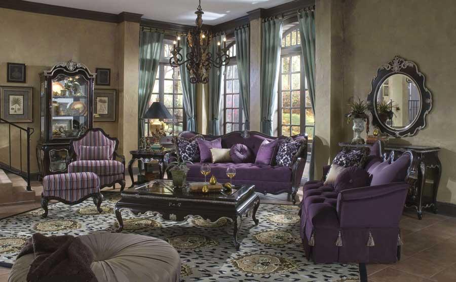 صورة غرف معيشة كلاسيك , صور ديكور غرف معيشة كلاسيك 3999 29