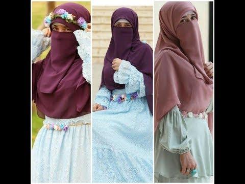 صورة صور بنات محجبات ومنقبات , روعة النقاب والخمار الماليزي