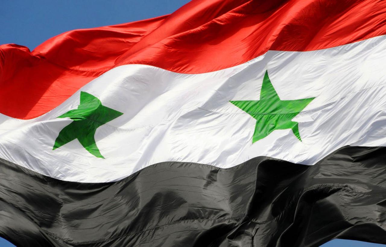 صورة صور العلم السوري , بلد الرجال الشجعان