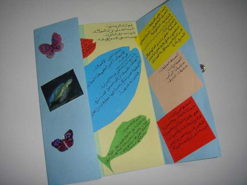 صورة اشكال مطويات العلوم بالصور , مشاريع علمية للطلاب من الورق الكرتون