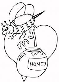 صورة نحلة للتلوين علمي طفلك كيف يرسم ويلون نحلة الحبيب للحبيب