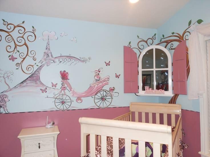 صورة صور رسومات جدران , دلعي شقتك بالرسوم الجديدة