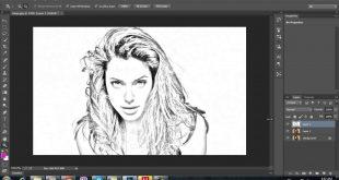 صورة تحويل الصورة الى رسم , ارسم صورتك بشكل مختلف