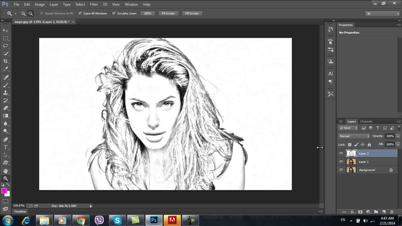 صور تحويل الصورة الى رسم , ارسم صورتك بشكل مختلف