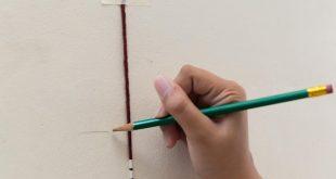 صور طريقة قياس الطول , كيف تقيس طولك داخل المنزل