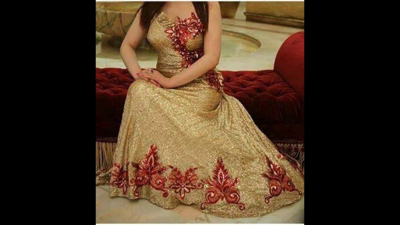 صورة قنادر عراسي جزائرية , قنادر لكل عروسة تريد المظهر الانيق