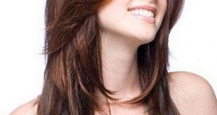 صورة قصات شعر طويل مدرج , اجمل تسريحات الشعر الطويل المدرج