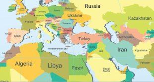 صورة خريطة شرق الاوسط , معلومات متنوعة حول الشرق الاوسط