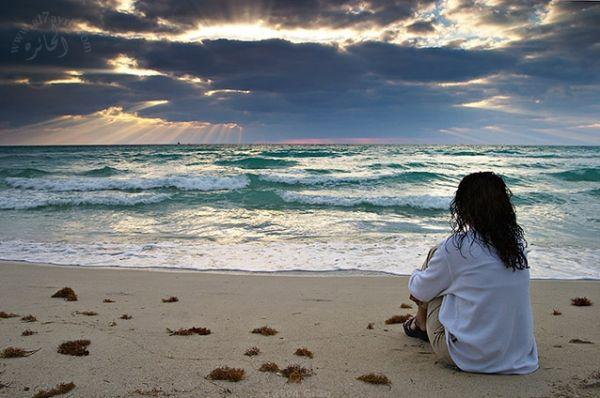 صورة صور بنات على البحر كيوت , موج البحر وسحره يخطف قلبك