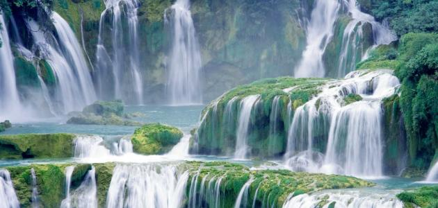 صورة اجمل الصور في العالم فيس بوك , اجمل الشلالات بالعالم