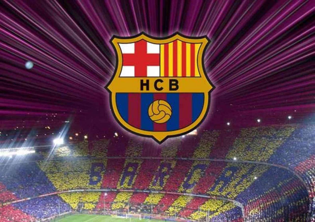 صورة صور شعار برشلونة , شعار البرسا النادي الملكي