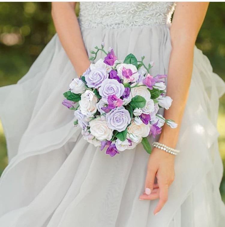 صورة يوم فى العمر تألقى بأجمل الورود , بوكيهات ورد للعرايس